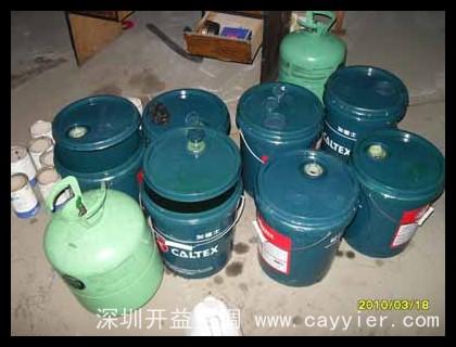 机组保养添加冷冻油